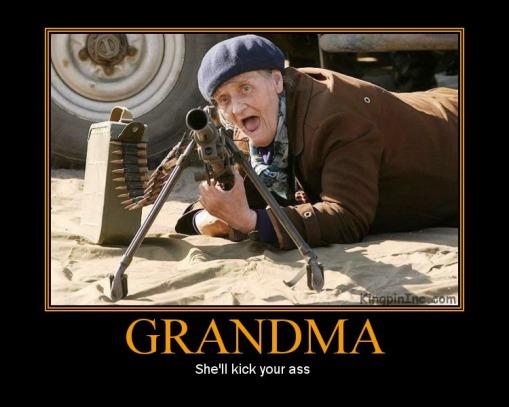 pour le plaisir des yeux - Page 12 Granny-gun1