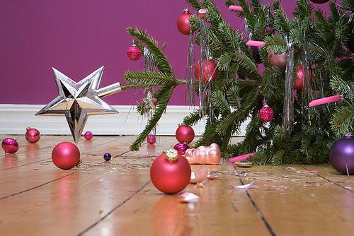fallenchristmastree